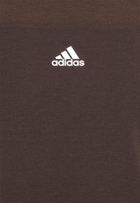 adidas Performance - AEROREADY TEE - Camiseta básica - brown - 5