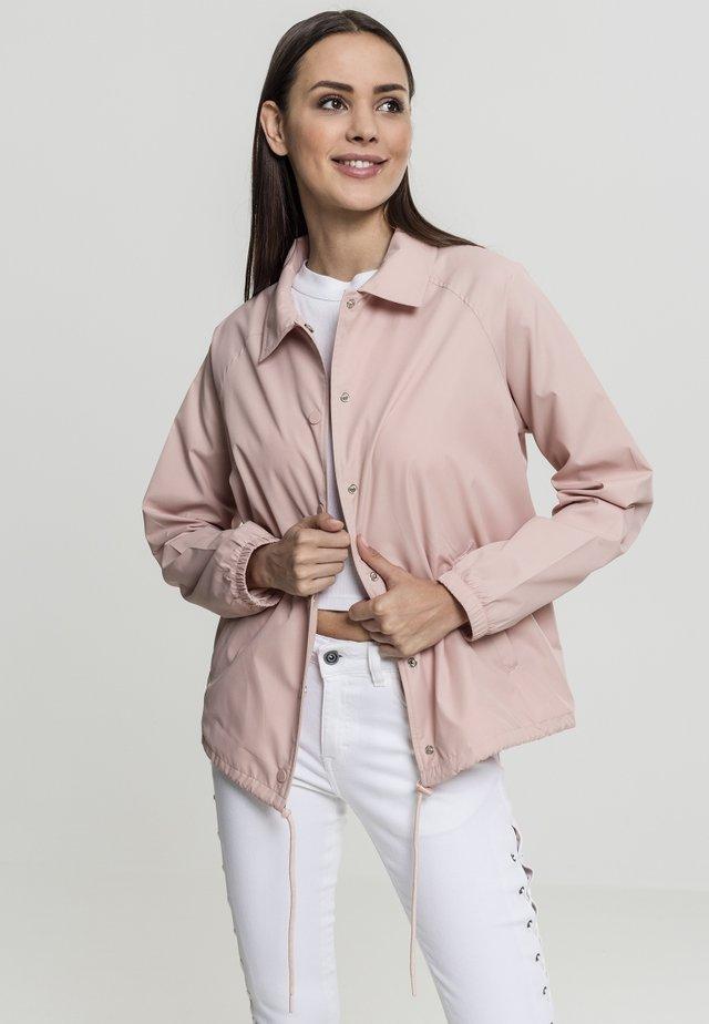 COACH - Training jacket - lightrose