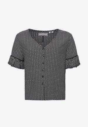 NEIA BUTTON UP - Camiseta estampada - mono geo
