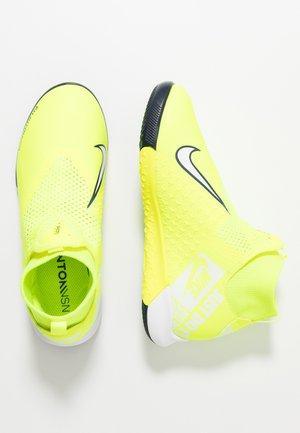 PHANTOM OBRAX 3 ACADEMY DF IC - Indoor football boots - volt/white/obsidian