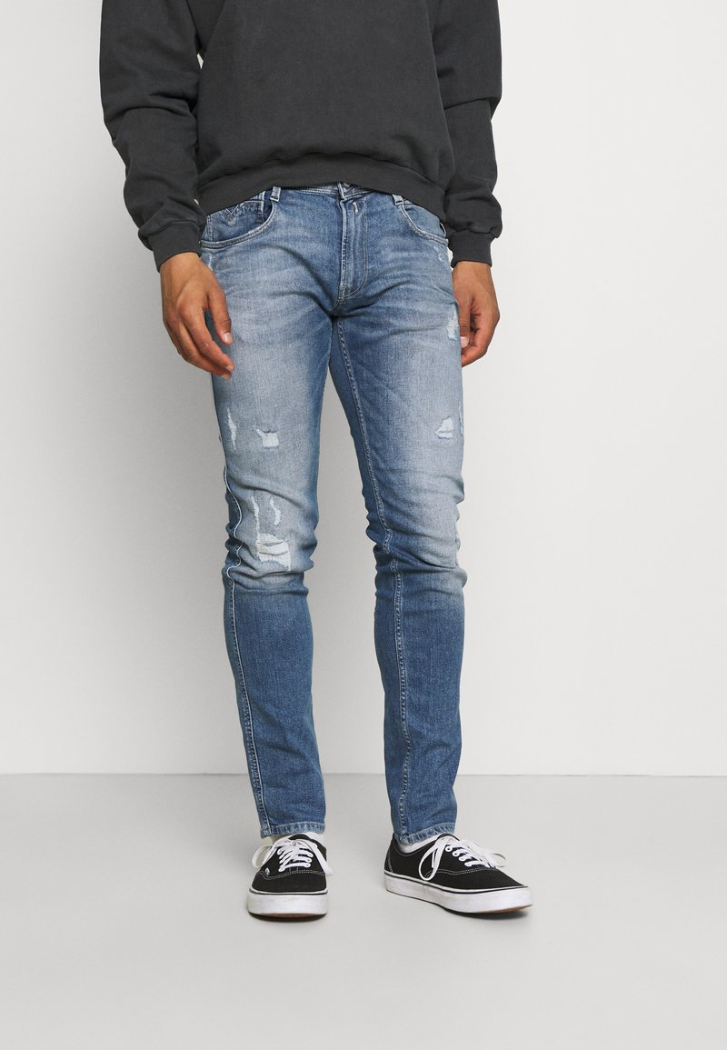 Replay - ANBASS - Jeans slim fit - light blue