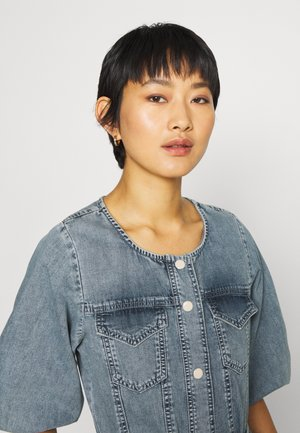 BROOKE DRESS - Denim dress - light vintage wash
