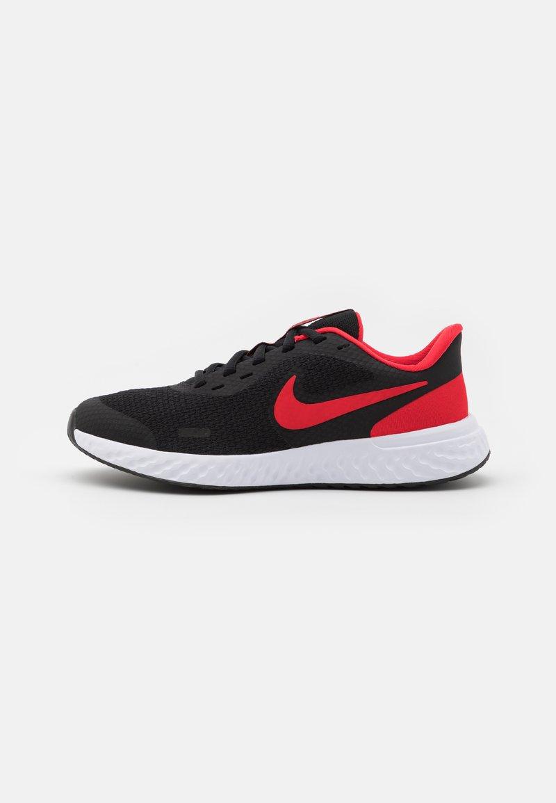 Nike Performance - REVOLUTION 5 UNISEX - Neutral running shoes - black/university red/white