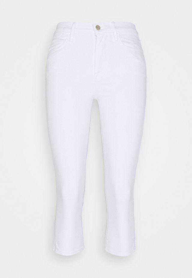 LE HIGH PEDAL PUSHER - Short - blanc