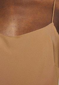 DESIGNERS REMIX - VALERIE STRAP DRESS - Cocktail dress / Party dress - camel - 6
