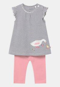 Staccato - SET - Leggings - Trousers - dark blue/light pink - 0