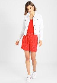 Noisy May - NMDEBRA - Denim jacket - bright white - 1