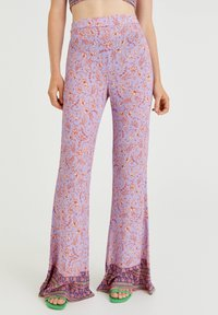 PULL&BEAR - Trousers - lilac - 0