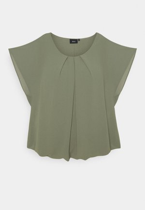 Blouse - agave green