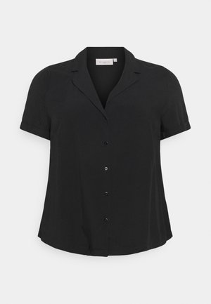 CARVISTALA SHIRT SOLID - Button-down blouse - black