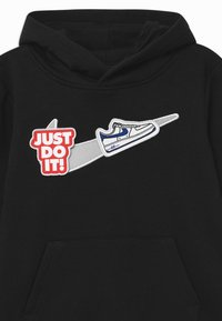 Nike Sportswear - HOOK LOOP TAPE  - Hoodie - black/white - 2