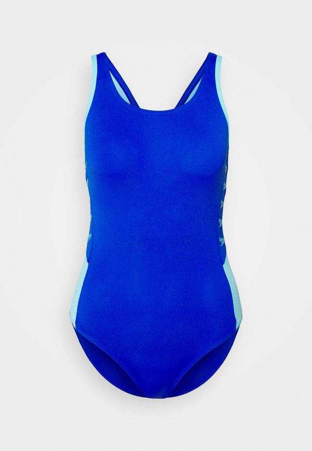 BOOM LOGO - Plavky - blue flame/light adriatic