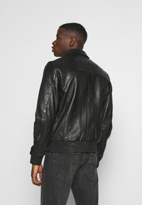 Tigha - DELMORE - Leather jacket - black - 2