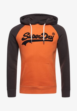 Hoodie - spiced orange