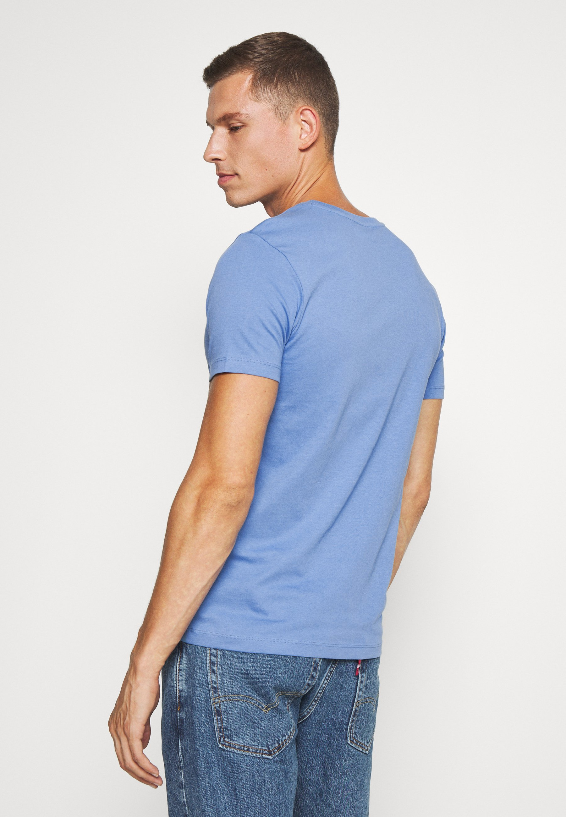 Marc O'Polo SHORT SLEEVE COLLA - Basic T-shirt - riviera 1gOrz