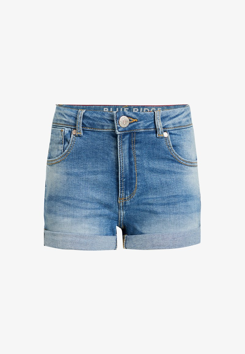 WE Fashion - Jeansshort - blue