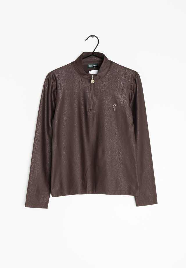 Longsleeve - brown