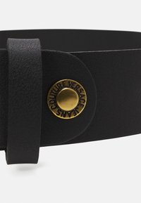 Versace Jeans Couture - ROUND BUCKLE - Belt - nero - 4