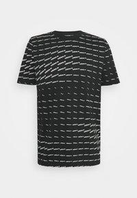 adidas Originals - MONO TEE UNISEX - T-shirt con stampa - black/white - 0
