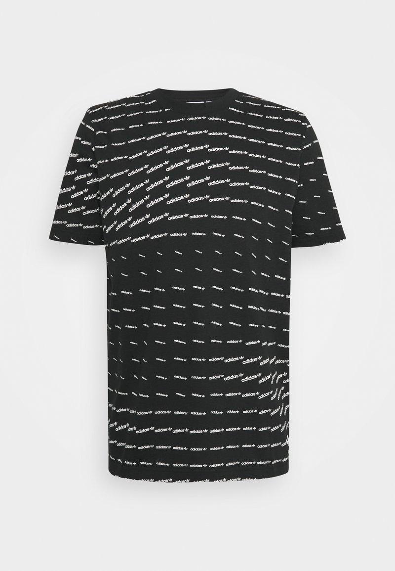 adidas Originals - MONO TEE UNISEX - T-shirt con stampa - black/white