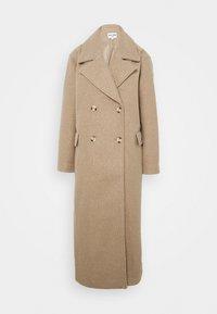 NA-KD - MAXI COAT - Classic coat - light beige - 6