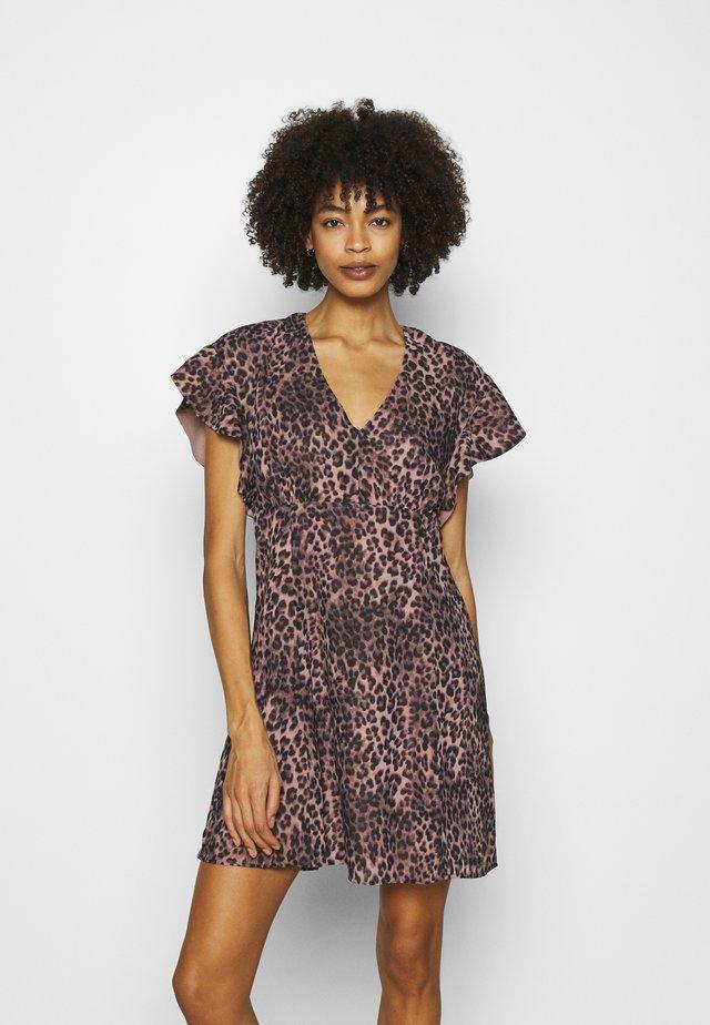 AYAR DRESS - Sukienka letnia - iconic brown