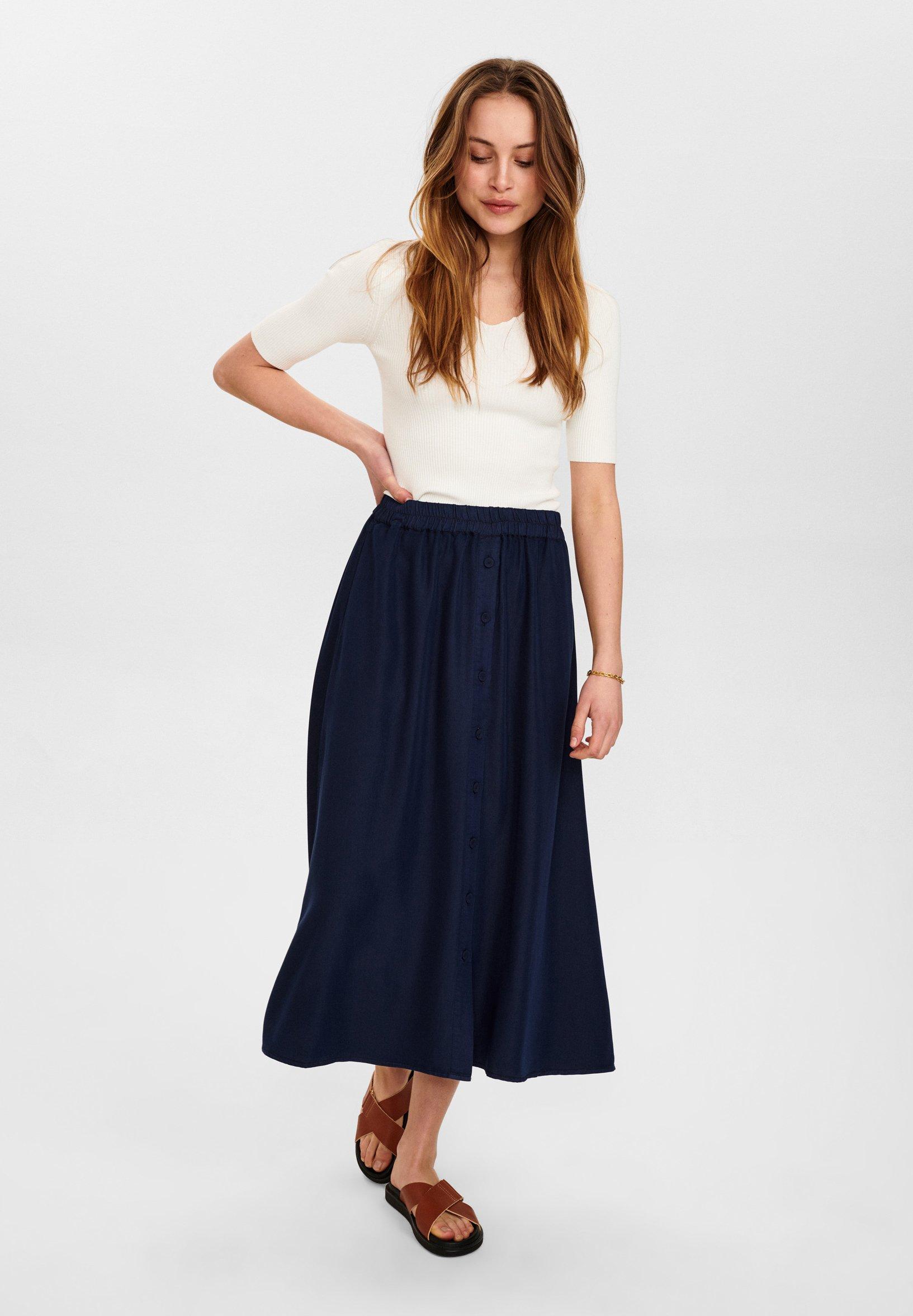 Women NUBROOKLYN SKIRT - Maxi skirt