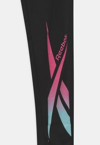 Reebok - LOGO - Leggings - black/pink - 2