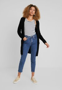 Cream - KAITLYN NEW CARDIGAN - Cardigan - pitch black - 1