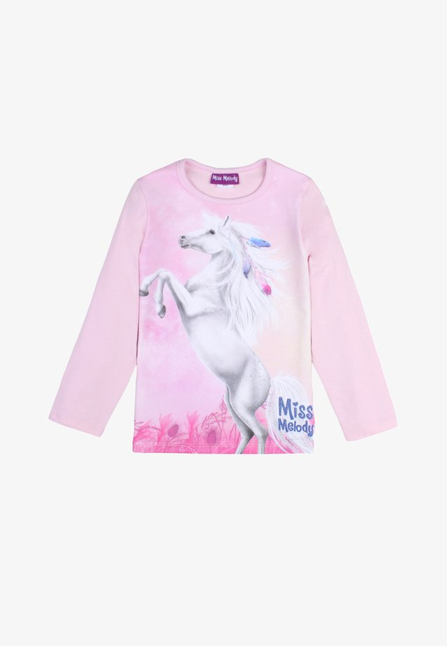 MISS MELODY - Long sleeved top - pink lady