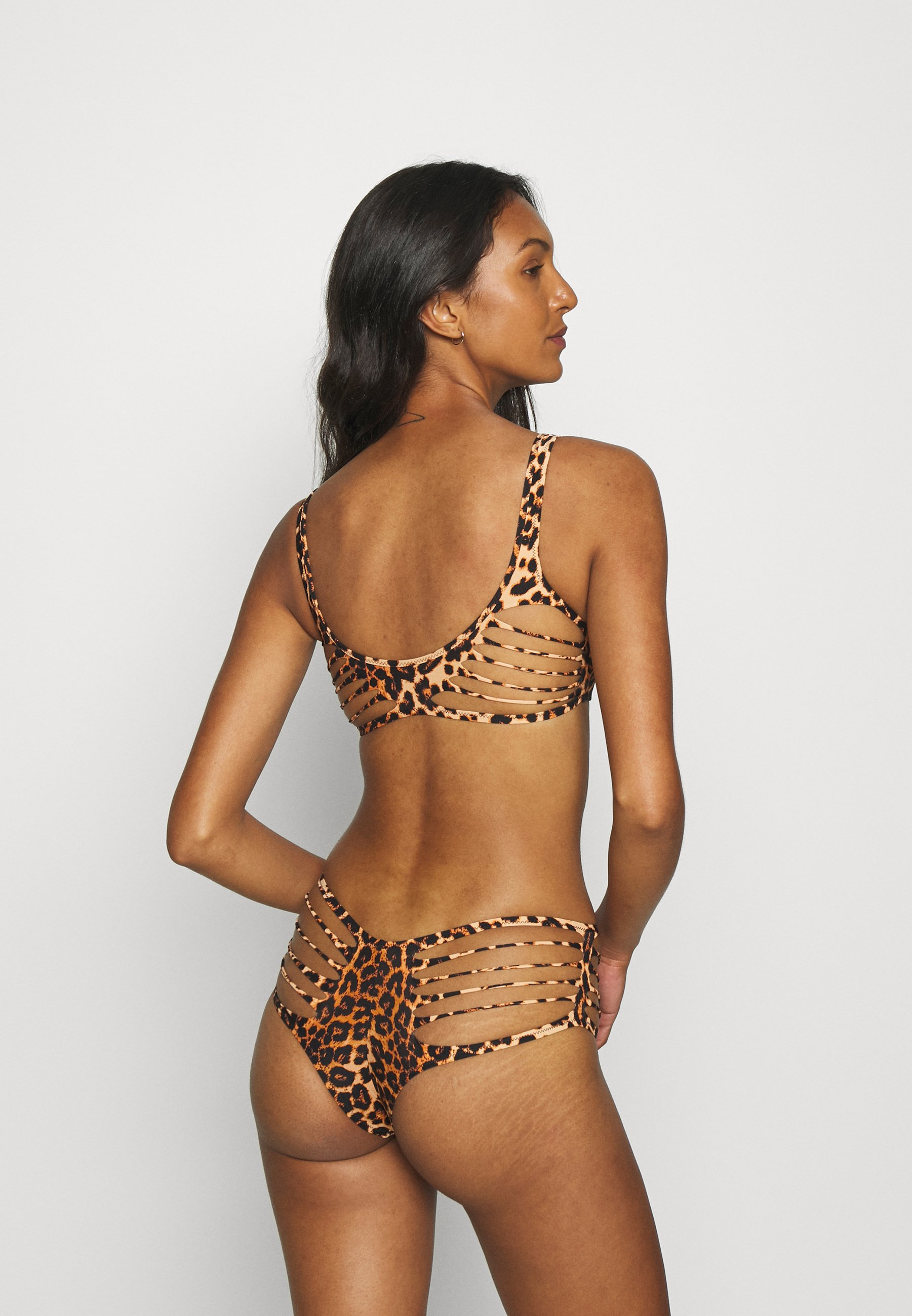 Women DAKOTTA BIKINI BRIEF LEOPARD - Bikini bottoms