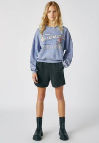 PULL&BEAR - Sweatshirts - mottled blue - 1