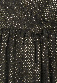 ONLY - ONLFURIOUS GLITTER WRAP - Blouse - black/gold - 2