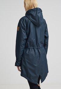 Derbe - TRAVEL COZY FRIESE - Waterproof jacket - navy - 2