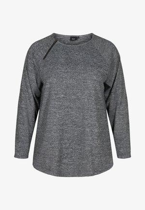 Blouse - dark grey