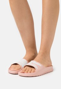 Lacoste - CROCO  - Mules - light pink/white - 0