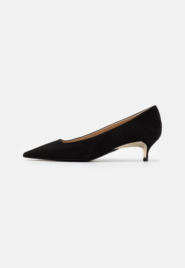 CODE DECOLLETE' T - Klassiske pumps - nero