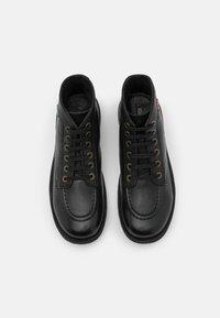 Kickers - KICKSTONER - Lace-up ankle boots - noir - 3