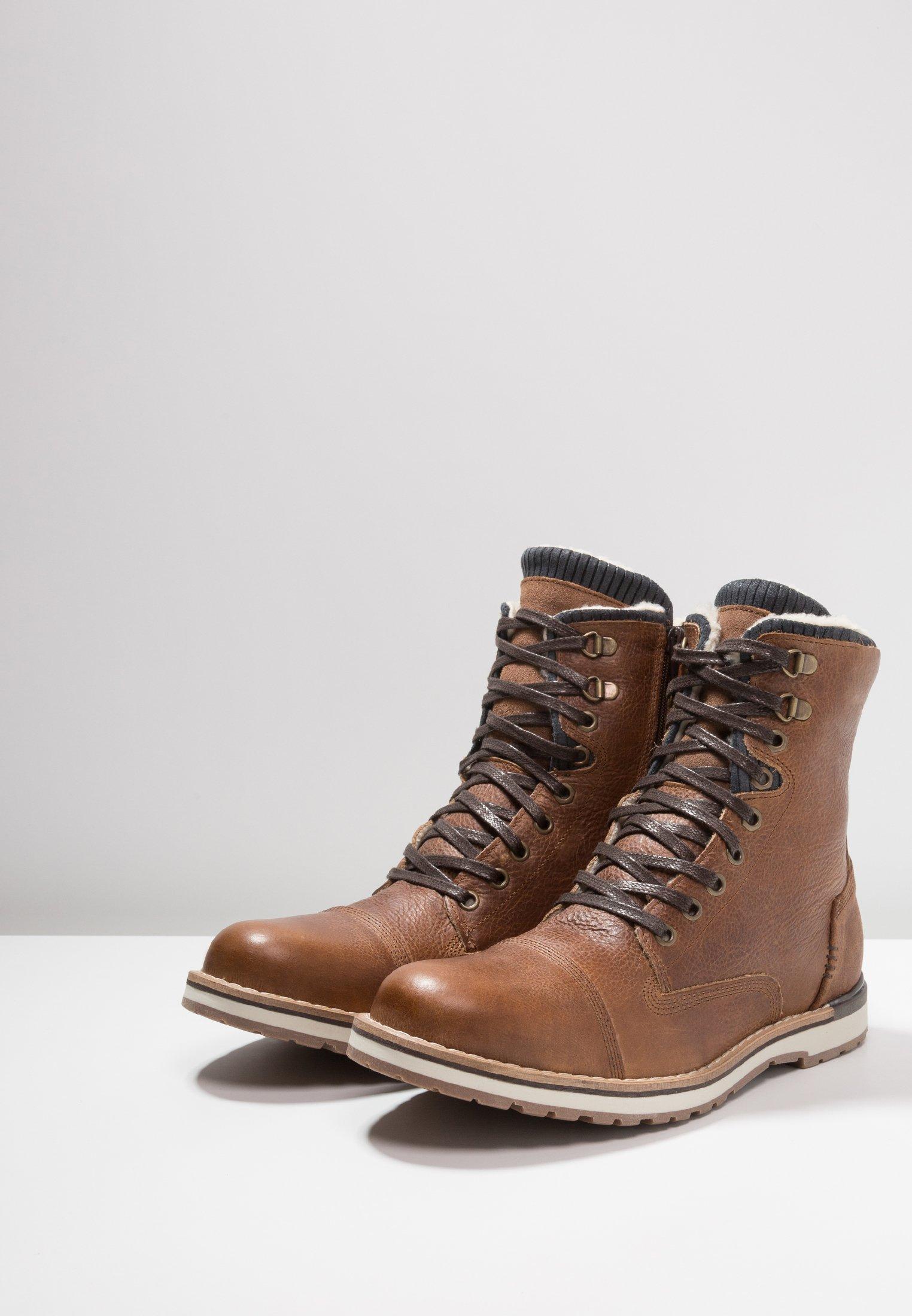 Designer Cheapest Pier One Lace-up ankle boots - cognac | men's shoes 2020 0k2Zf