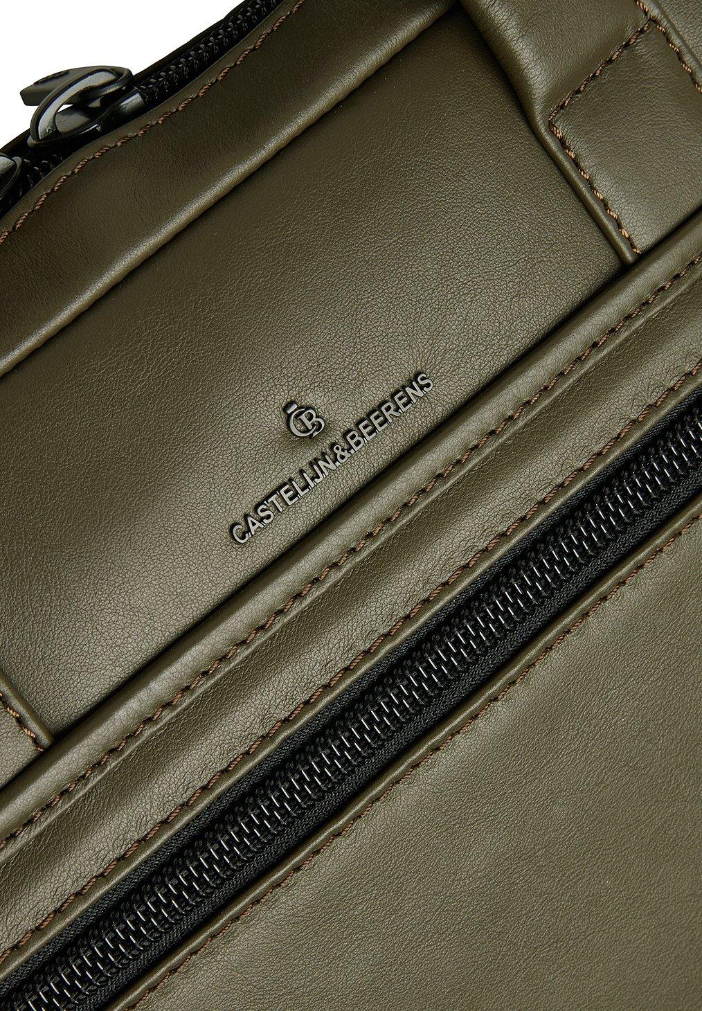 Castelijn  Beerens Aktentasche - green/grün - Herrentaschen t3aoq