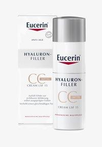 Eucerin - GETÖNTE TAGESCREME HYALURON-FILLER CC CREAM MITTEL, ANTI AGE - CC cream - - - 0