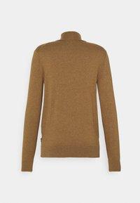 Zign - Stickad tröja - camel - 1