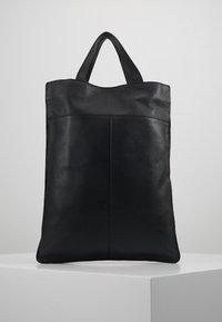 Zign - UNISEX LEATHER - Shopping bags - black - 0