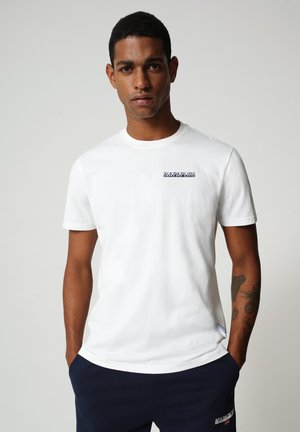 S SURF - T-shirt med print - bright white