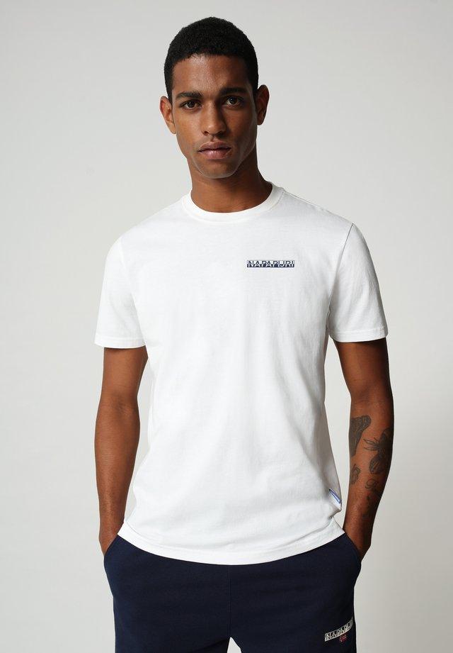 S SURF - T-shirt print - bright white