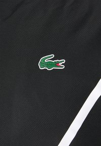 Lacoste Sport - SET TENNIS TRACKSUIT HOODED - Survêtement - black/white - 7