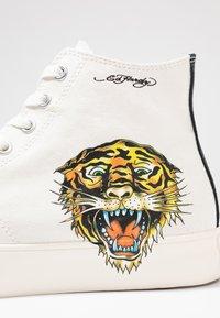 Ed Hardy - FIERCE TOP - Sneakers high - white - 5