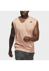 adidas Performance - YOGA MUSCLE TEE - Top - ambient blush - 3