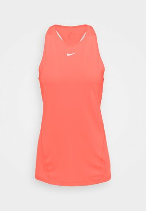 TANK ALL OVER  - Sports shirt - bright mango/white