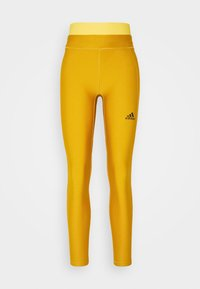 adidas Performance - ASK C.RDY - Tights - dark yellow - 6